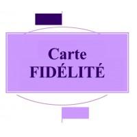 Carte Fidélité